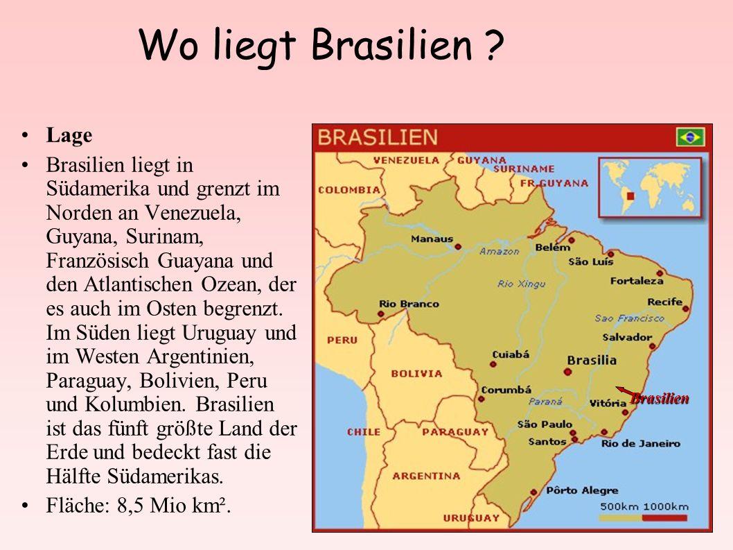 Wo liegt Brasilien Lage
