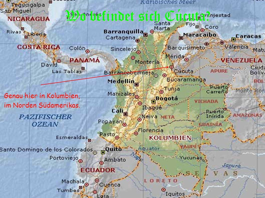 Wo befindet sich Cúcuta