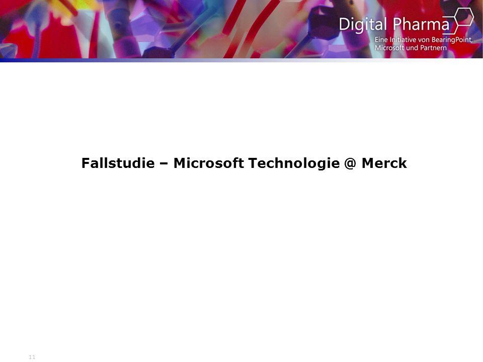 Fallstudie – Microsoft Technologie @ Merck