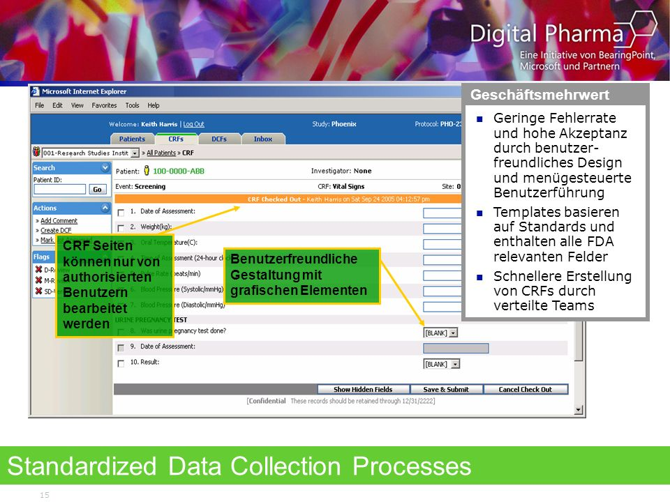 Standardized Data Collection Processes