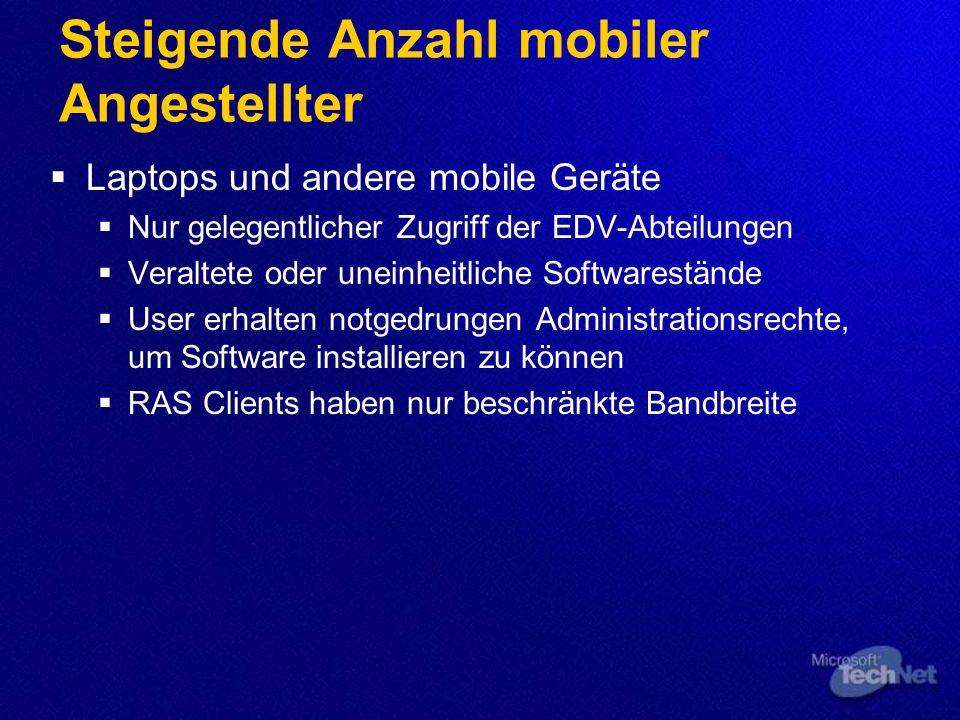 Steigende Anzahl mobiler Angestellter