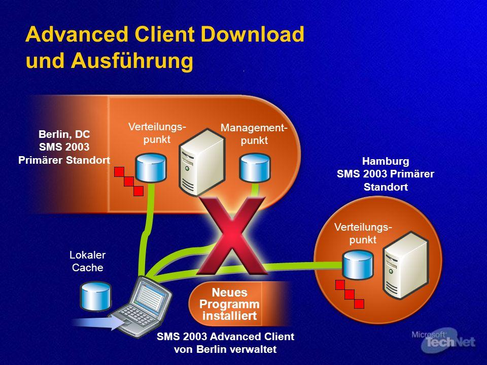 Advanced Client Download und Ausführung