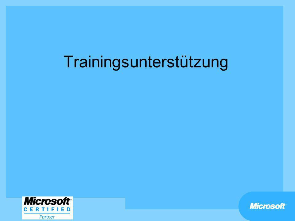 Trainingsunterstützung
