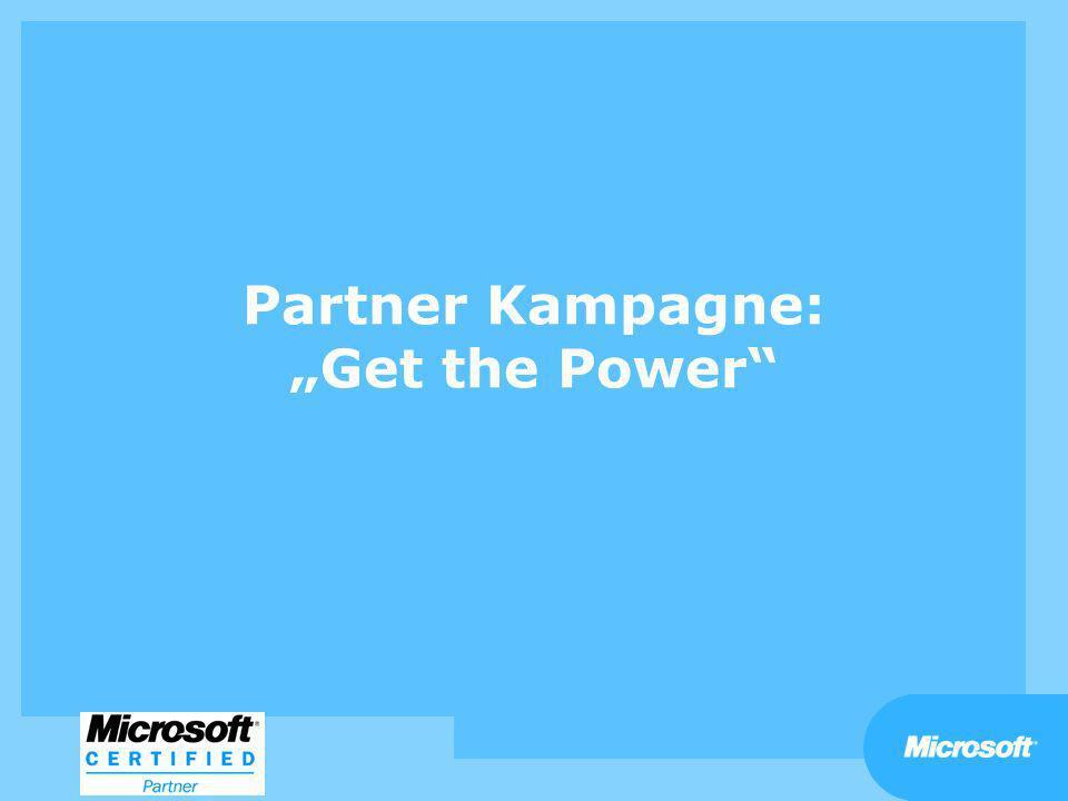 "Partner Kampagne: ""Get the Power"