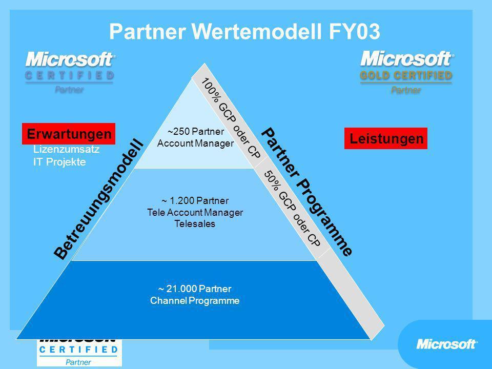 Partner Wertemodell FY03