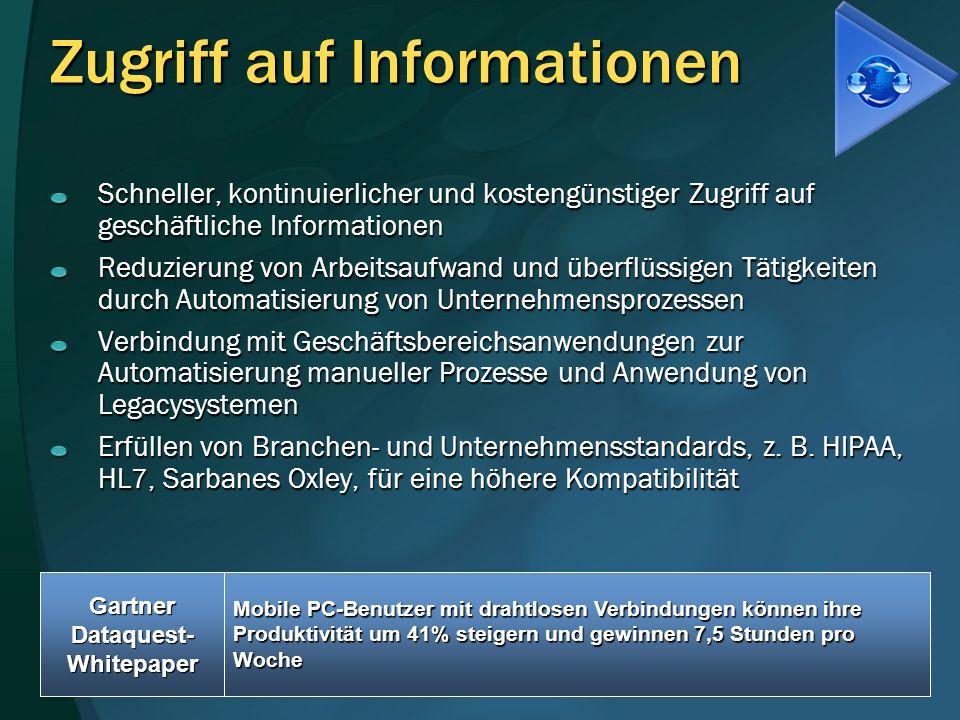 Zugriff auf Informationen