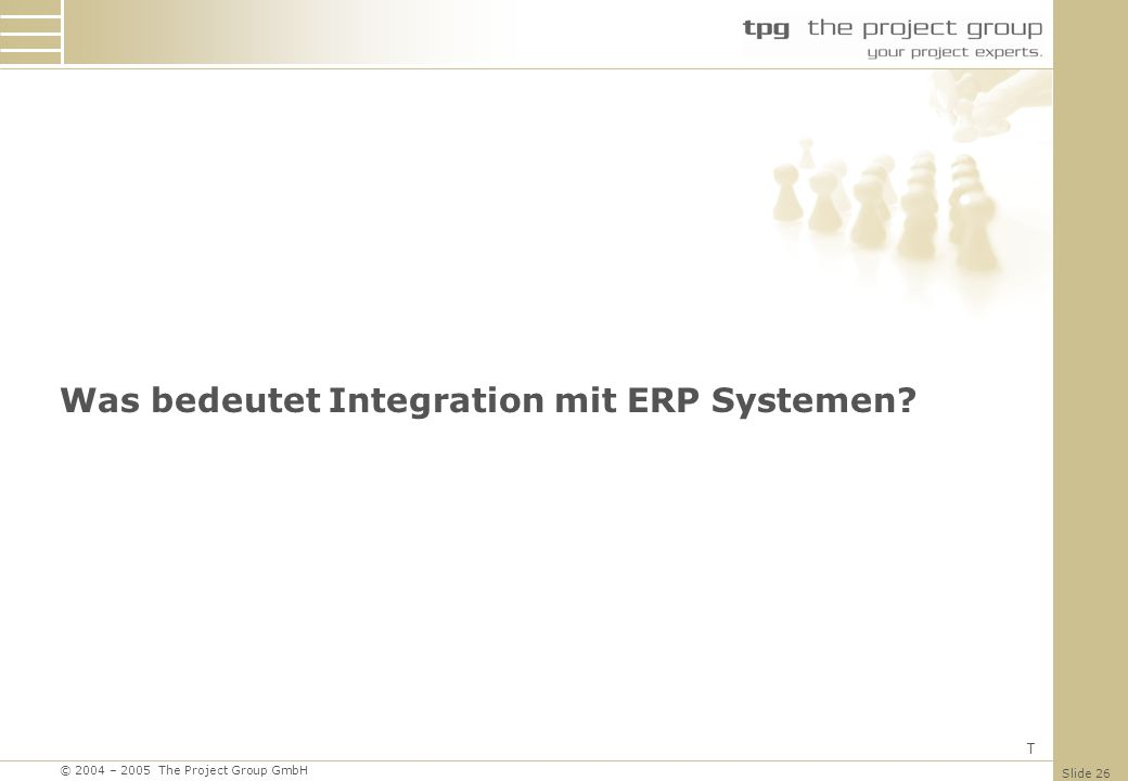 Was bedeutet Integration mit ERP Systemen