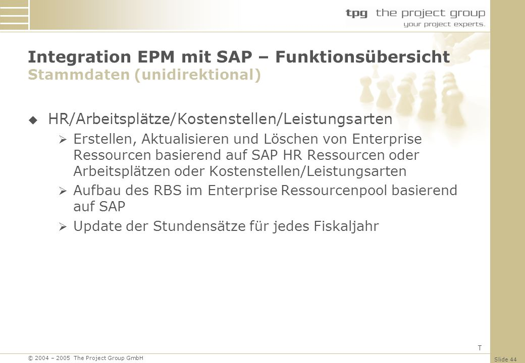 The Project Group GmbH Hauptstr. 8b Unterhaching Germany - ppt ...