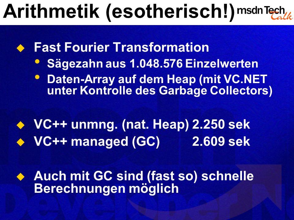 Arithmetik (esotherisch!)