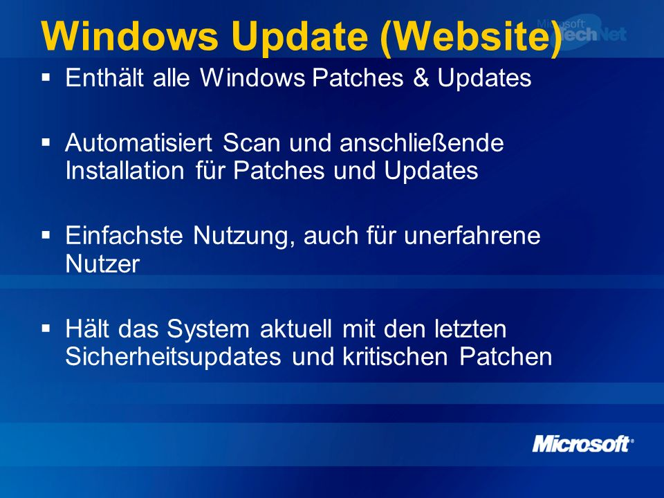 Windows Update (Website)