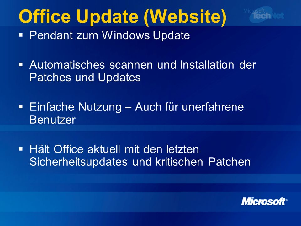 Office Update (Website)
