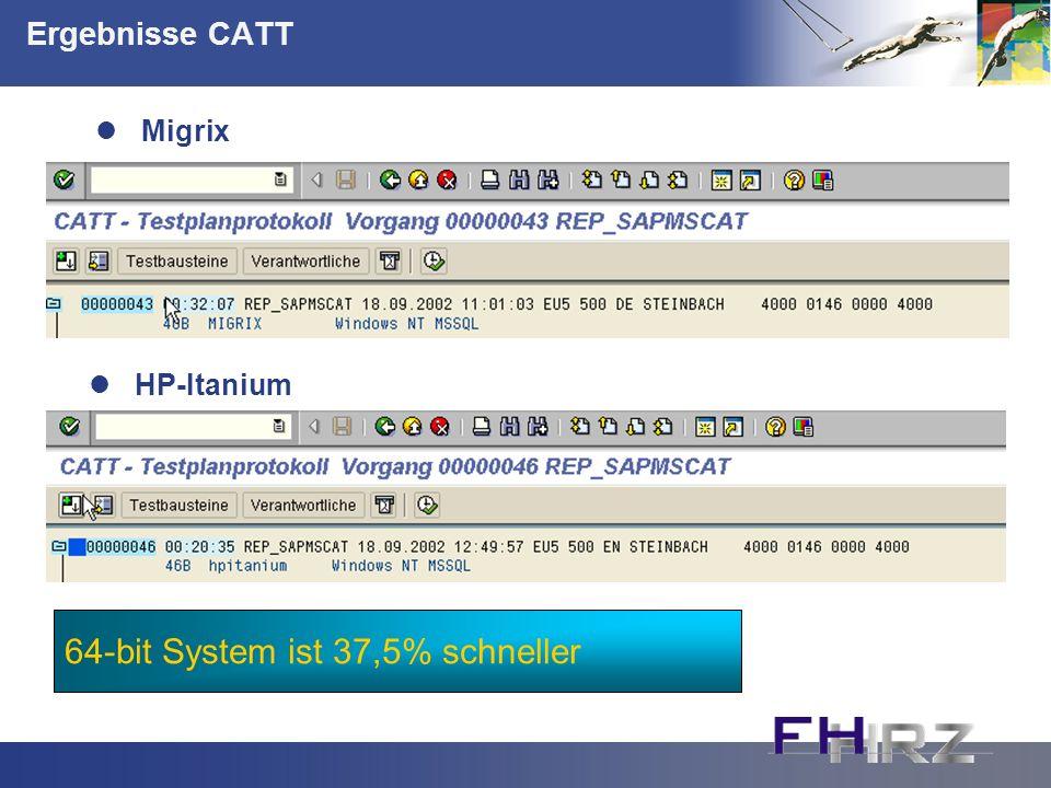 64-bit System ist 37,5% schneller