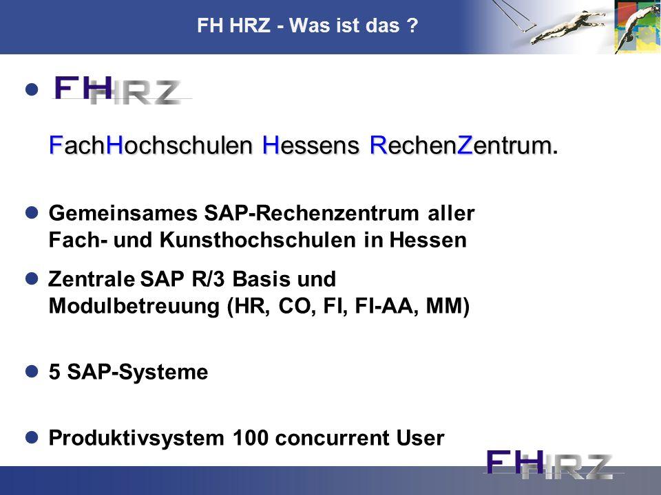 FachHochschulen Hessens RechenZentrum.