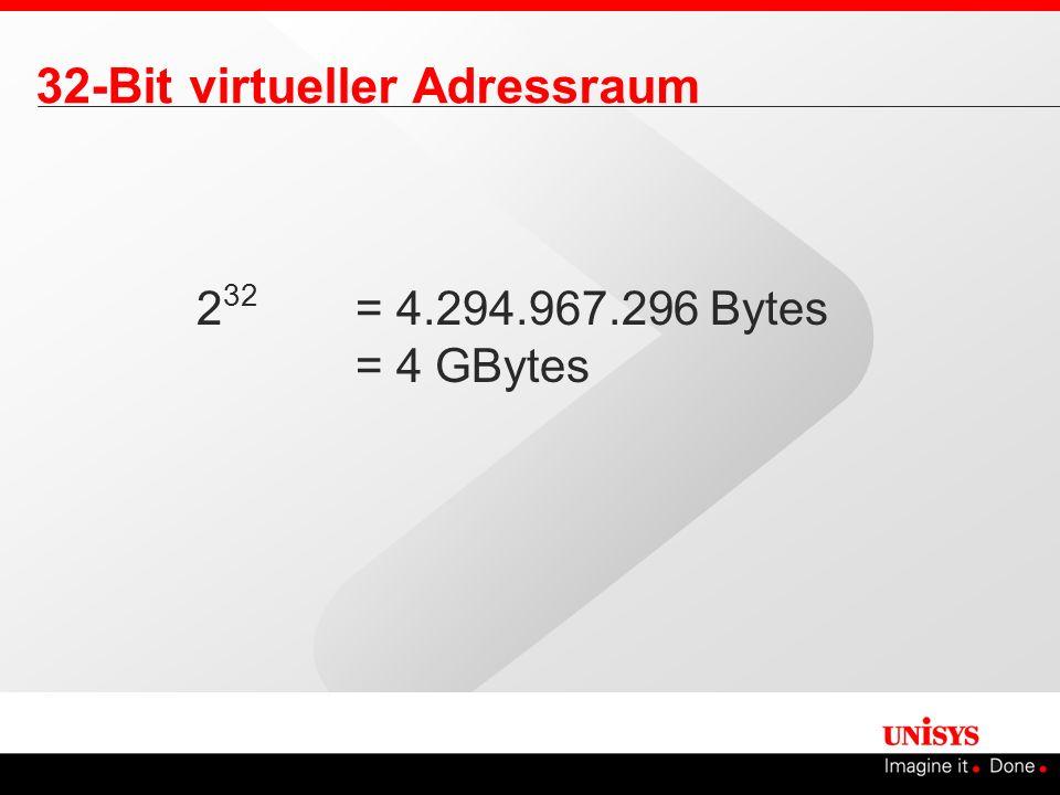 32-Bit virtueller Adressraum