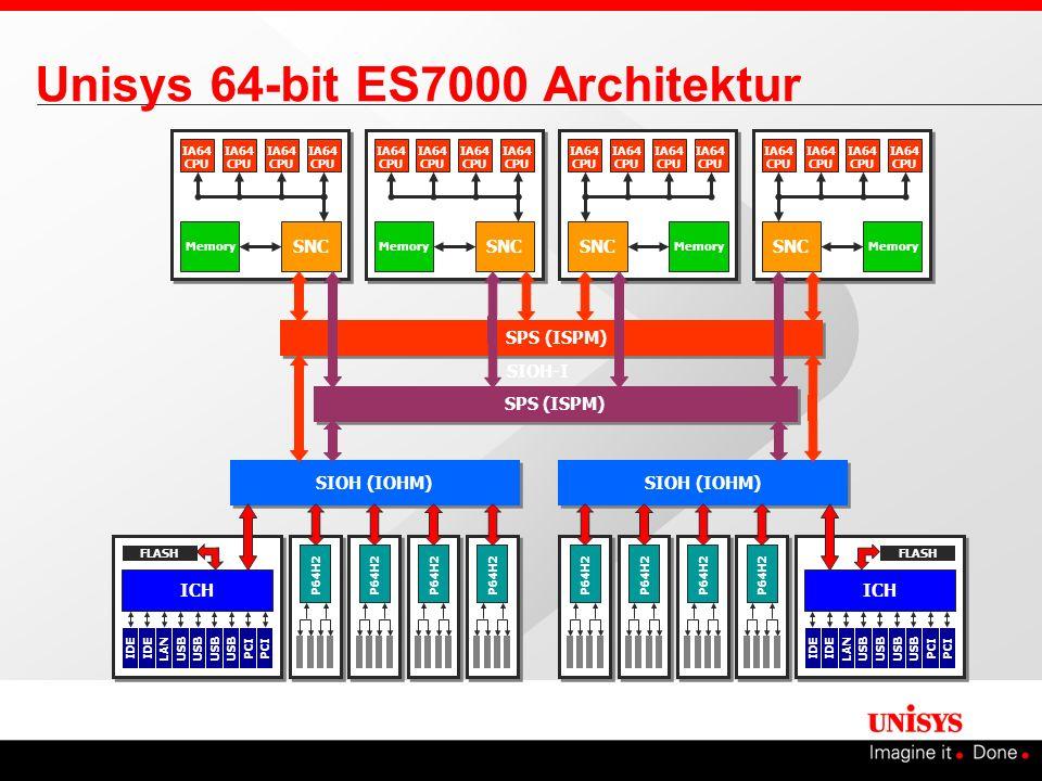 Unisys 64-bit ES7000 Architektur