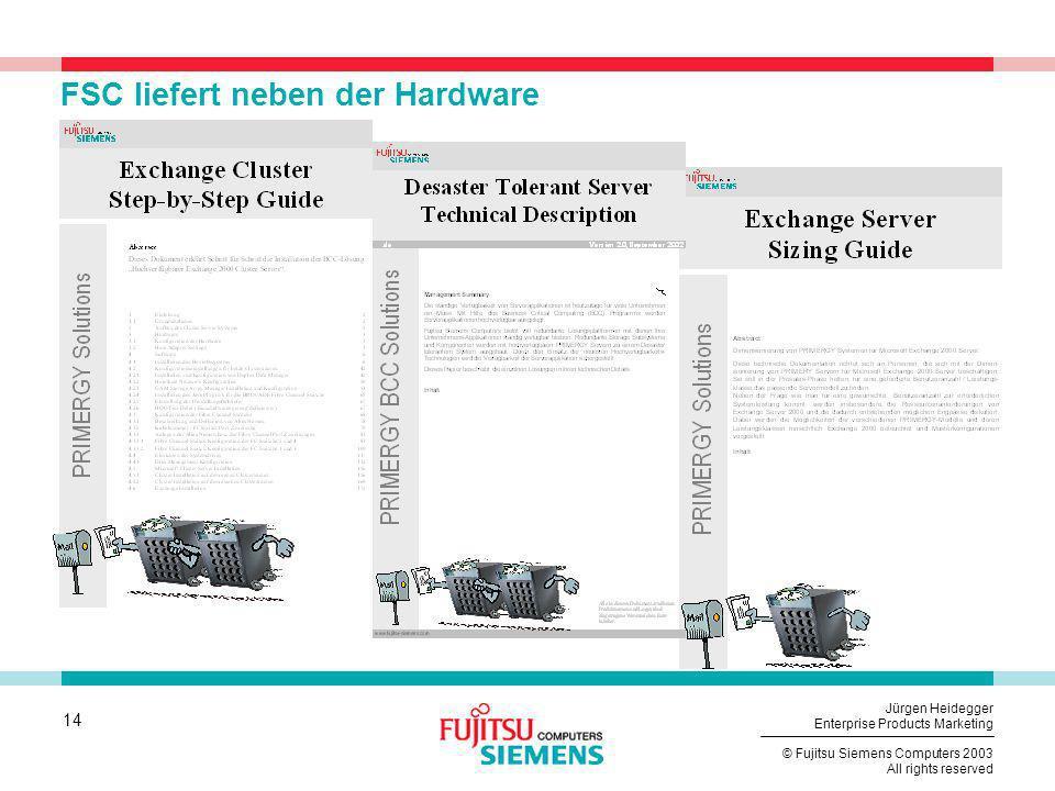 FSC liefert neben der Hardware