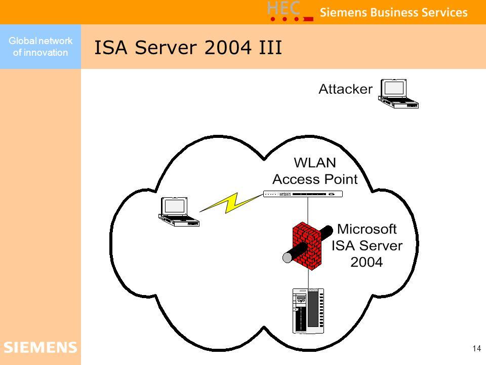 ISA Server 2004 III
