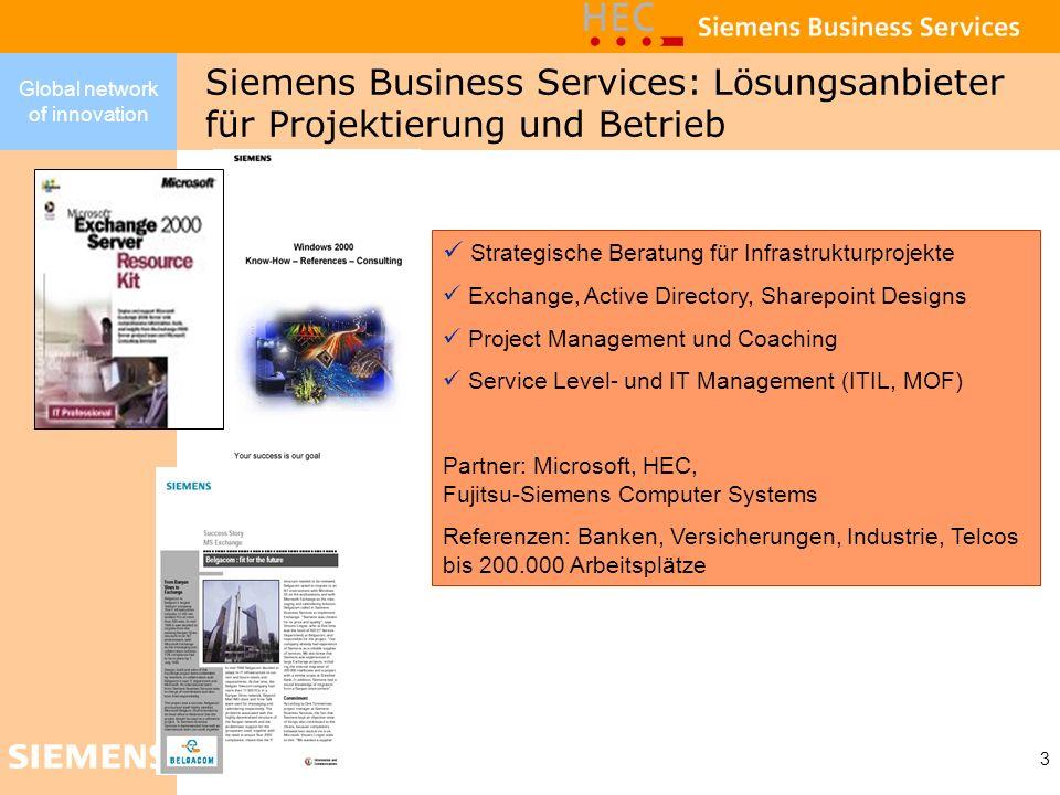 Siemens Business Services: Lösungsanbieter für Projektierung und Betrieb