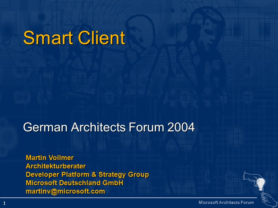 German Architects Forum 2004