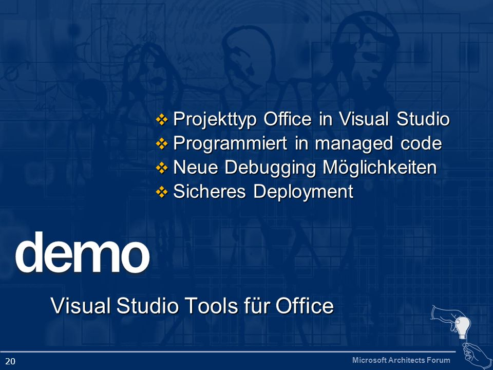 Visual Studio Tools für Office