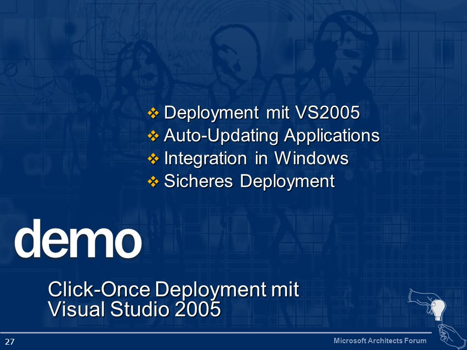 Click-Once Deployment mit Visual Studio 2005