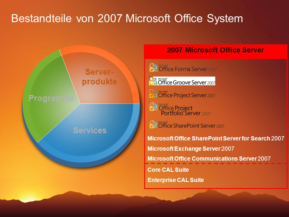 2007 Microsoft Office Server