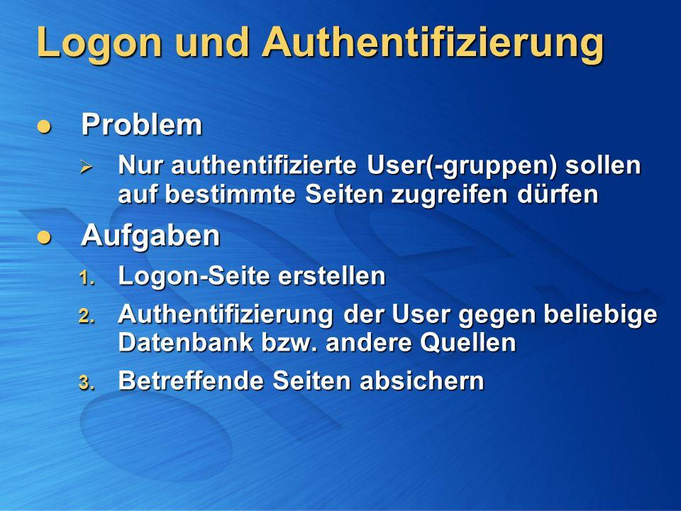 Logon und Authentifizierung