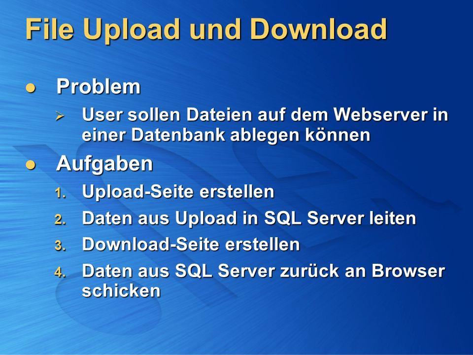 File Upload und Download