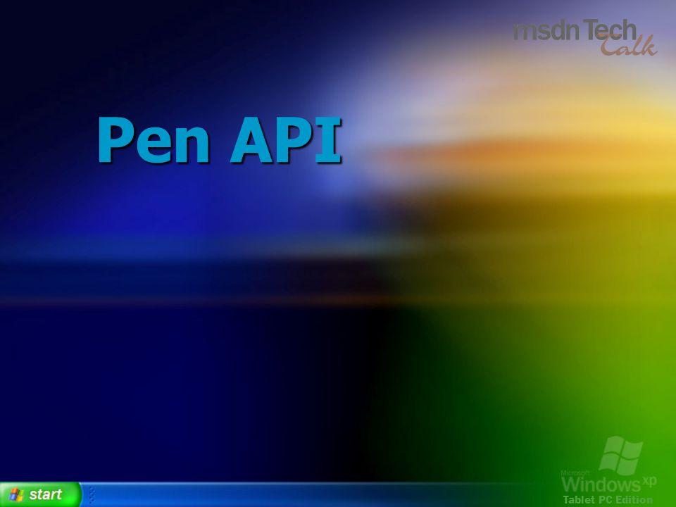 Pen API