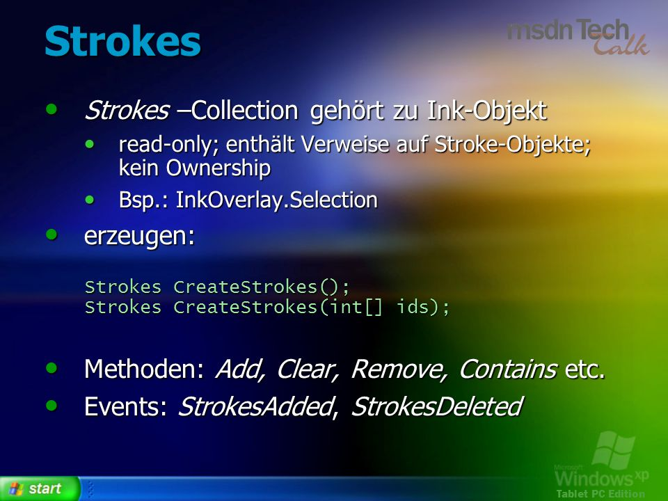 Strokes Strokes –Collection gehört zu Ink-Objekt