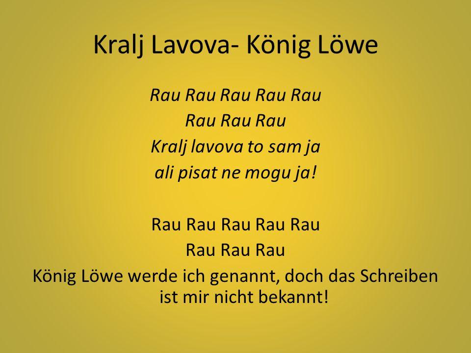 Kralj Lavova- König Löwe