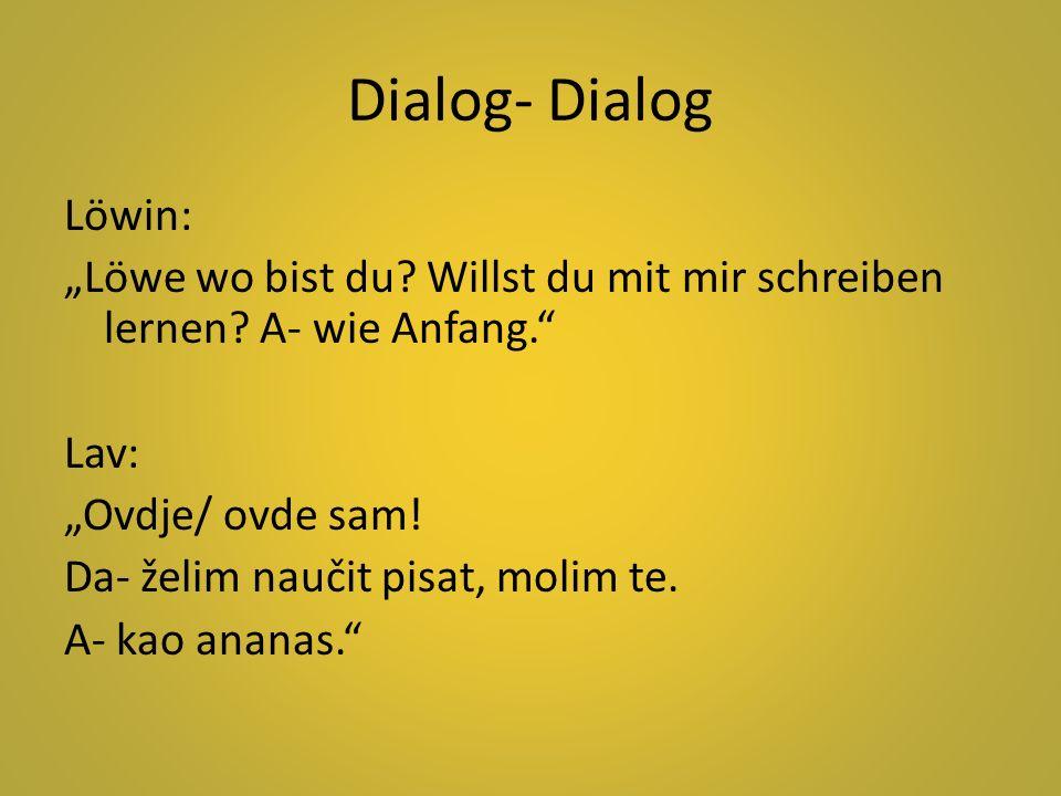 Dialog- Dialog