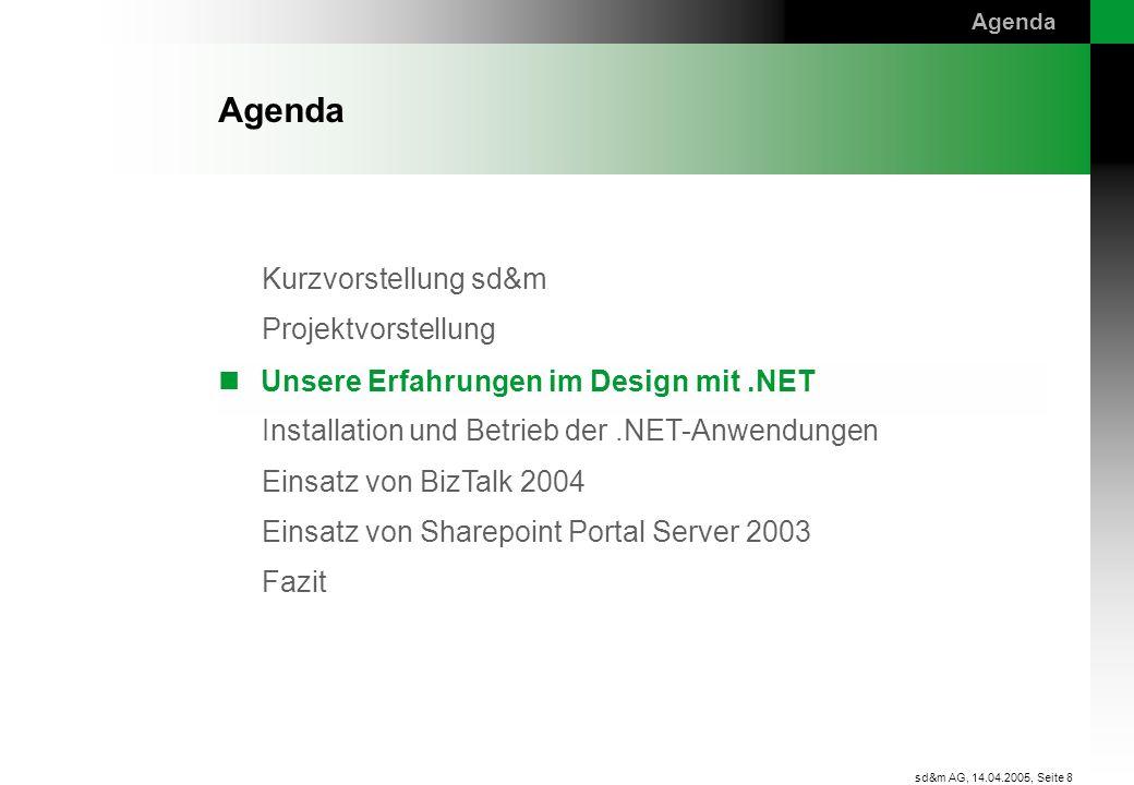 Unsere Erfahrungen im Design mit .NET