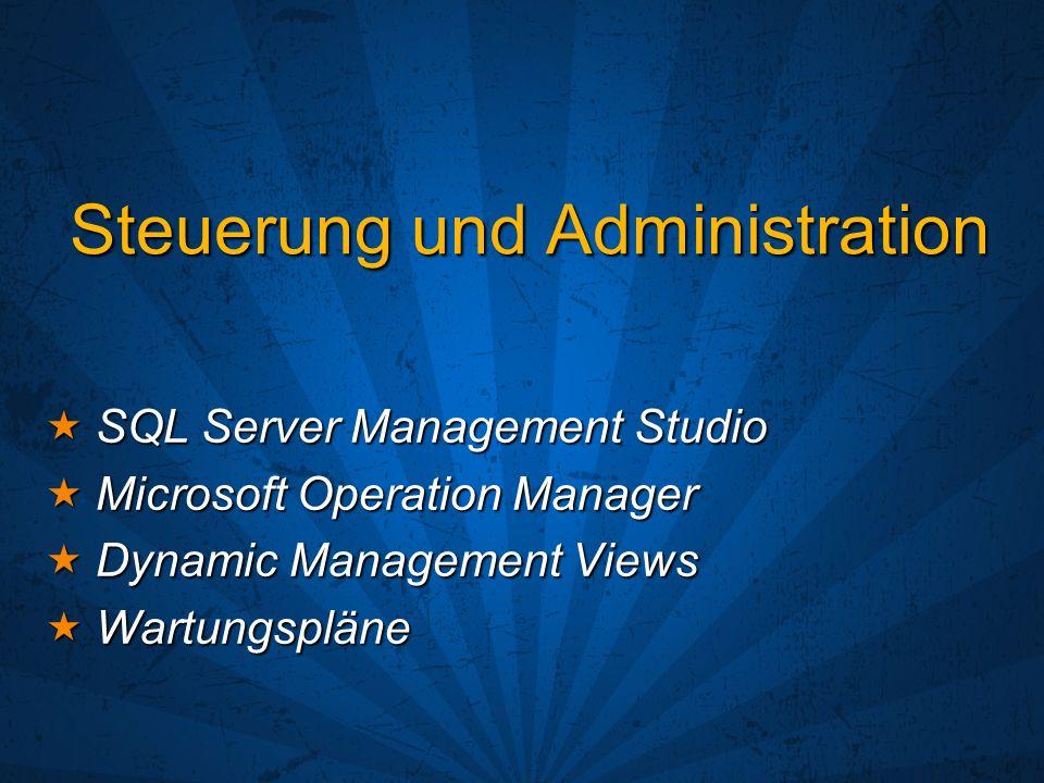 Steuerung und Administration