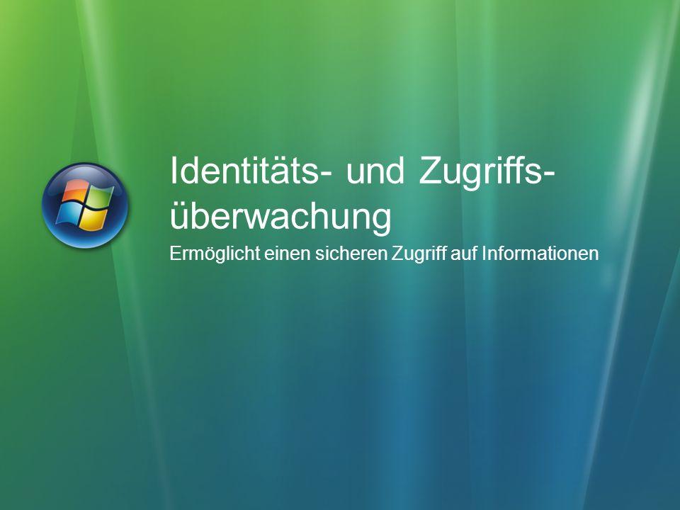 Identitäts- und Zugriffs- überwachung