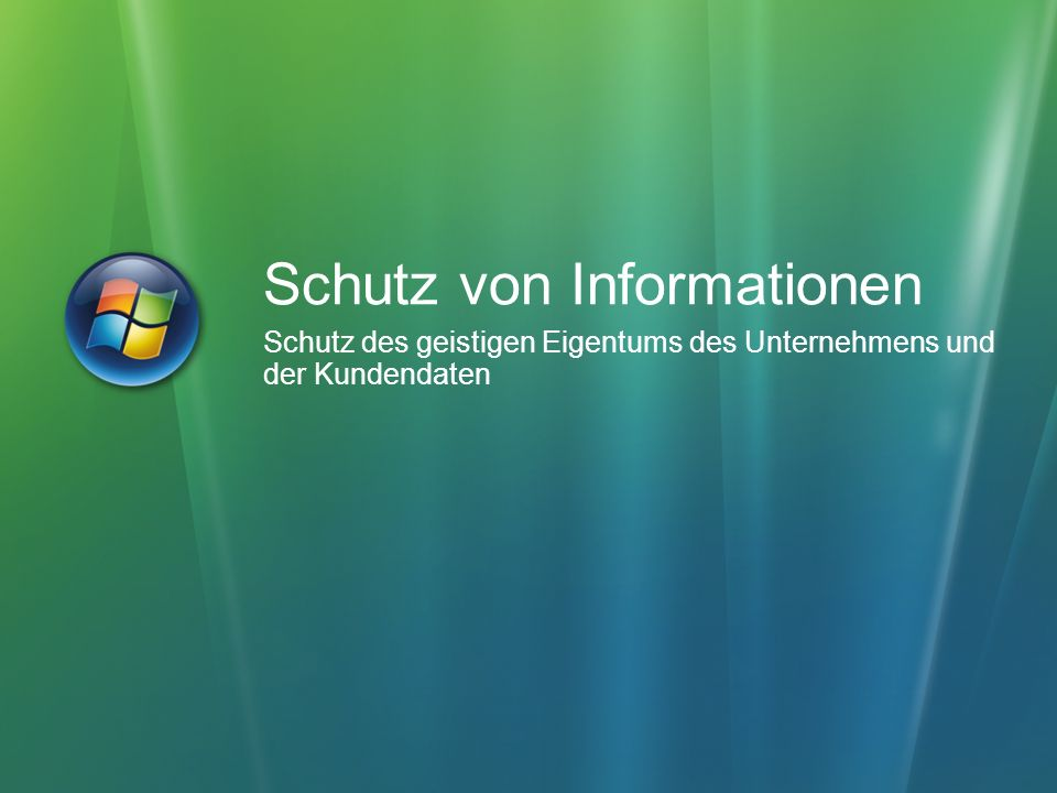 Schutz von Informationen