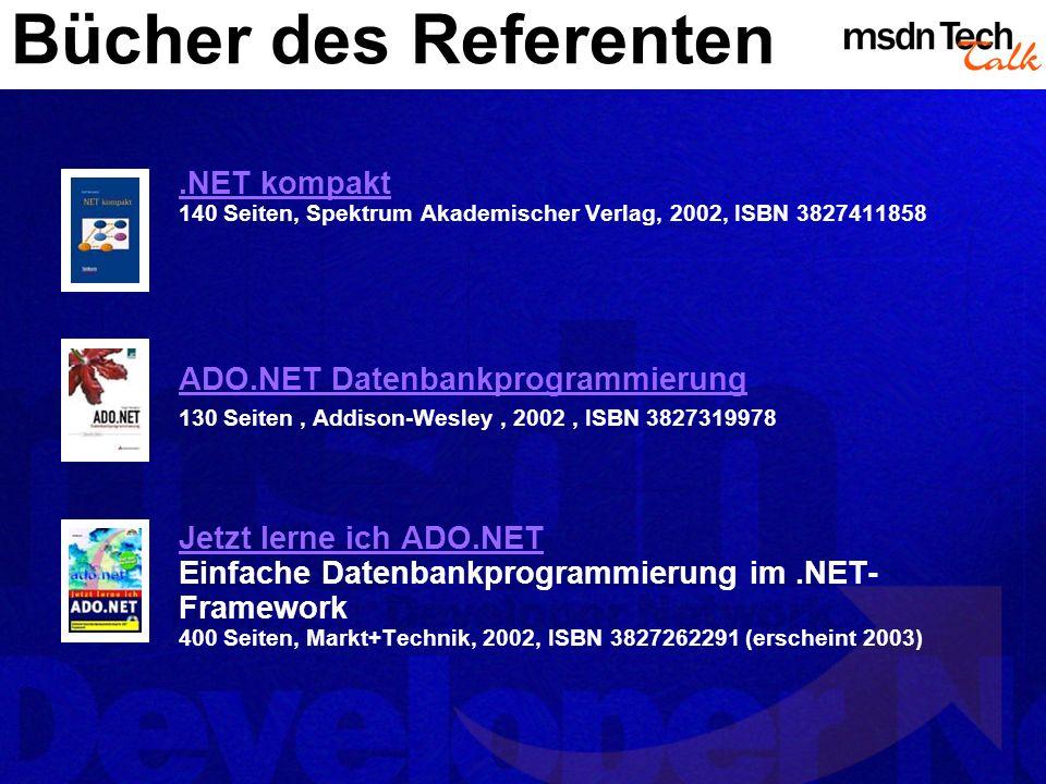 MSDN TechTalk – <<Monat JJJJ>> <<Thema>> 15