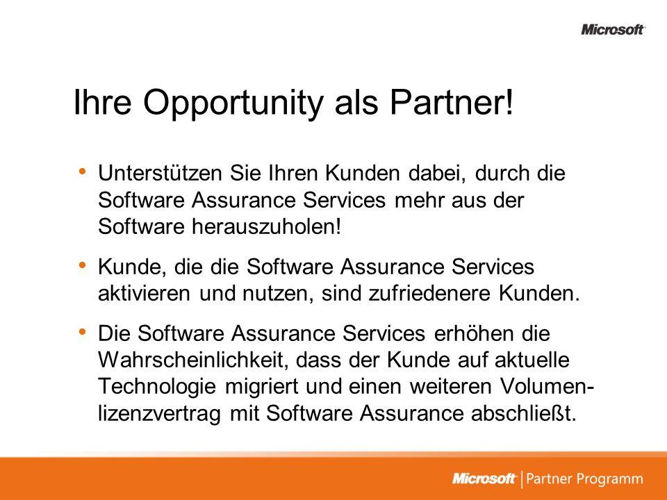 Ihre Opportunity als Partner!