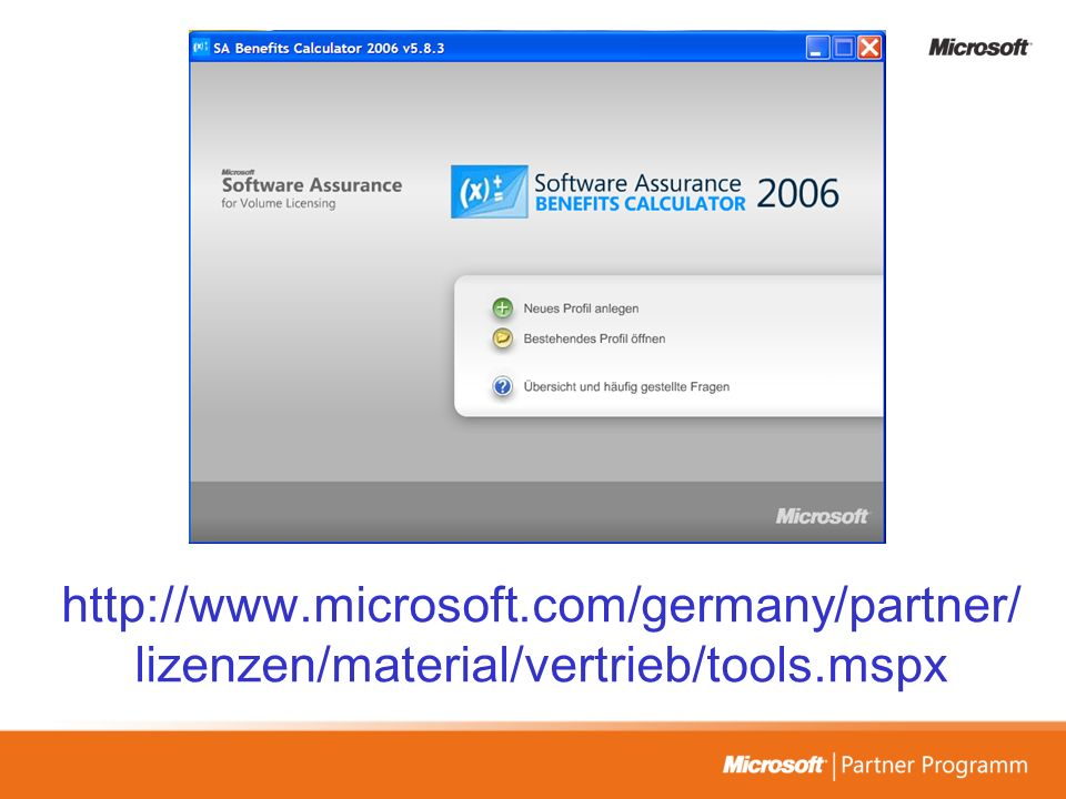 http://www.microsoft.com/germany/partner/ lizenzen/material/vertrieb/tools.mspx