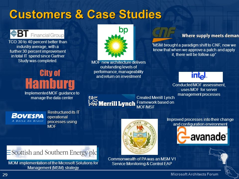 Customers & Case Studies
