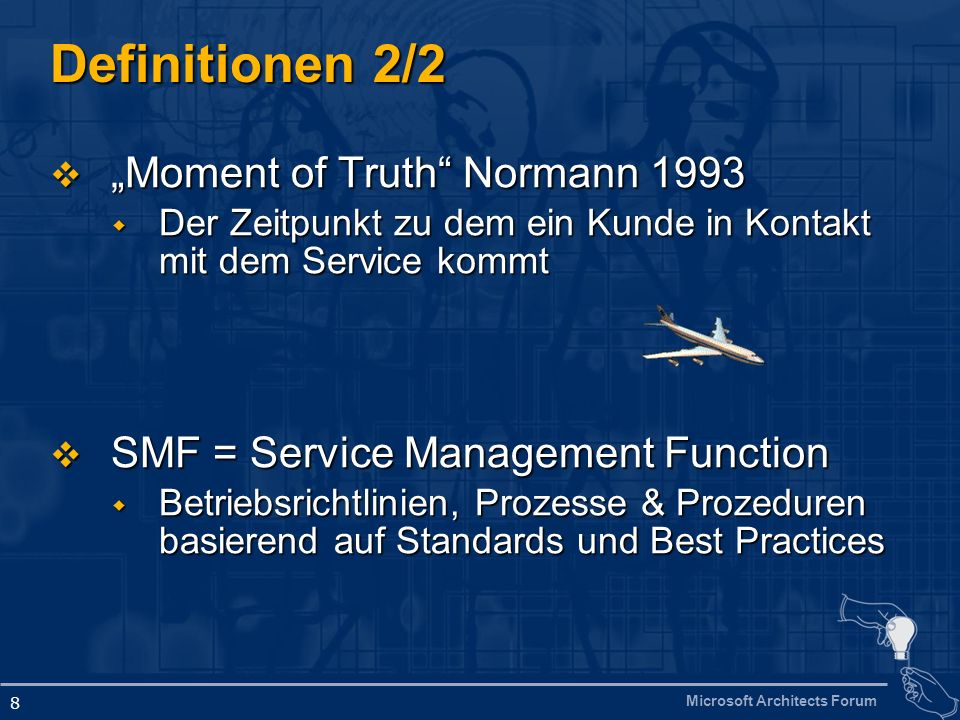 "Definitionen 2/2 ""Moment of Truth Normann 1993"