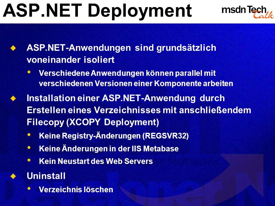 MSDN TechTalk – <<Monat JJJJ>> <<Thema>> 14