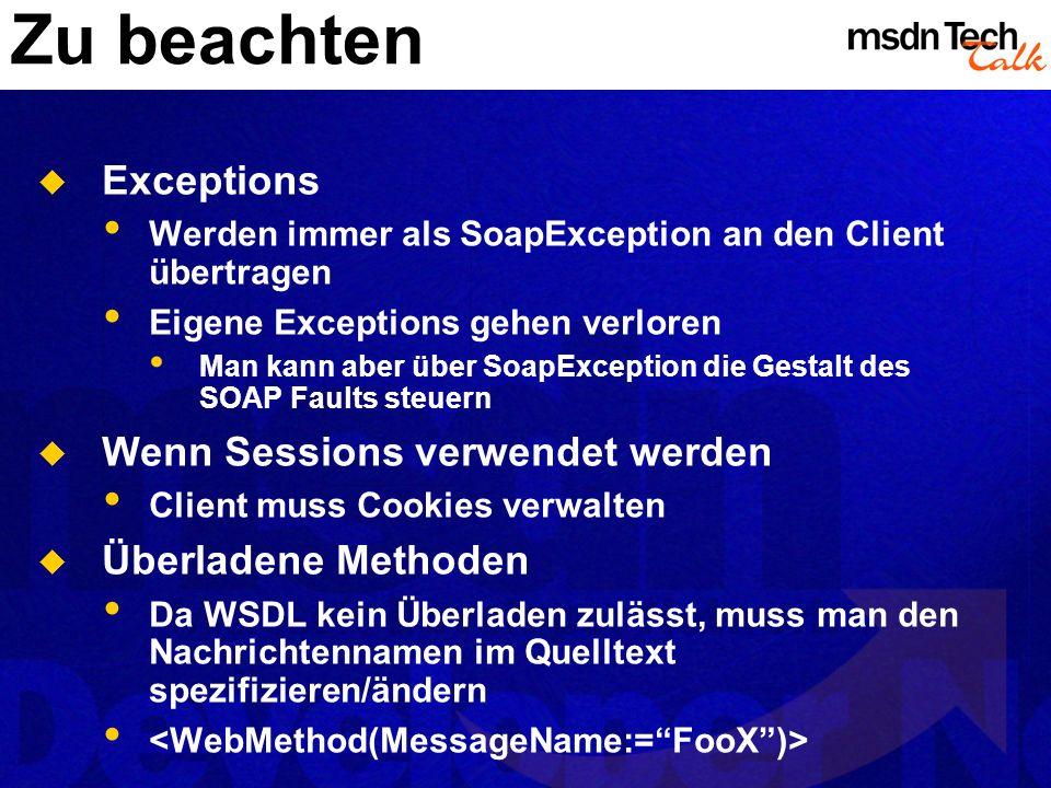MSDN TechTalk – <<Monat JJJJ>> <<Thema>> 45