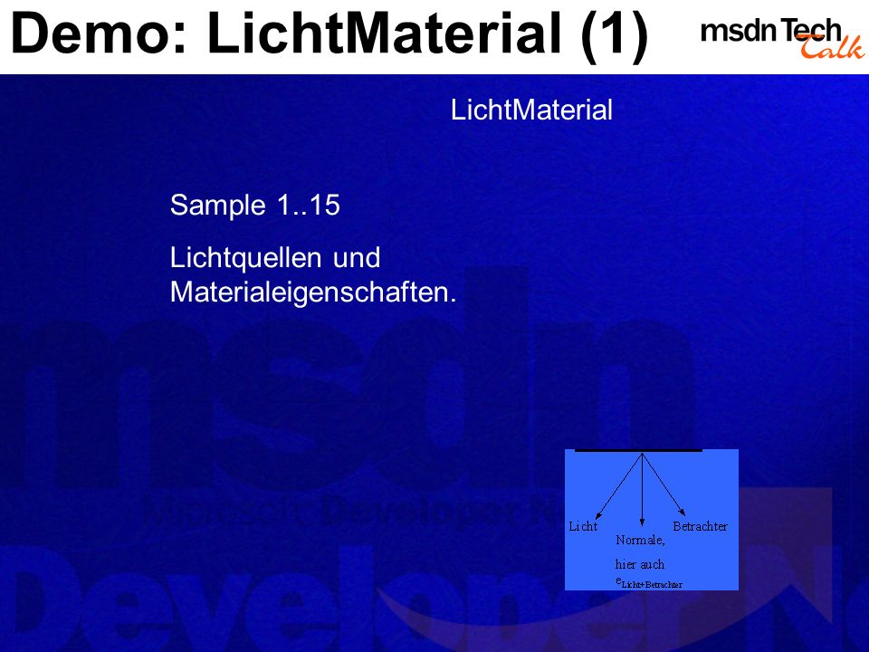 Demo: LichtMaterial (1)