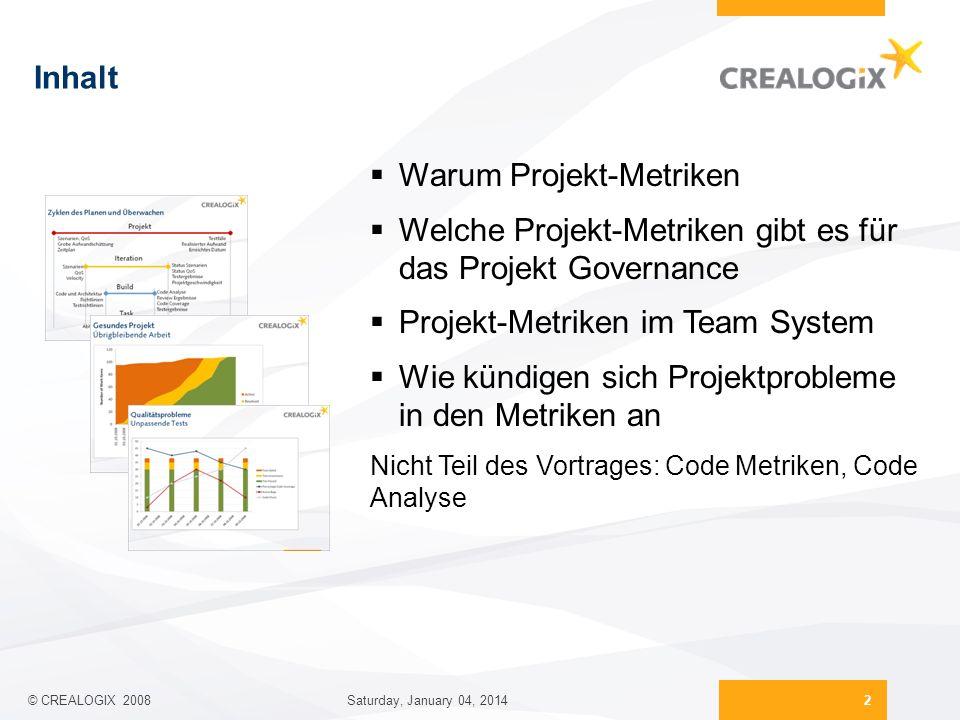 Warum Projekt-Metriken