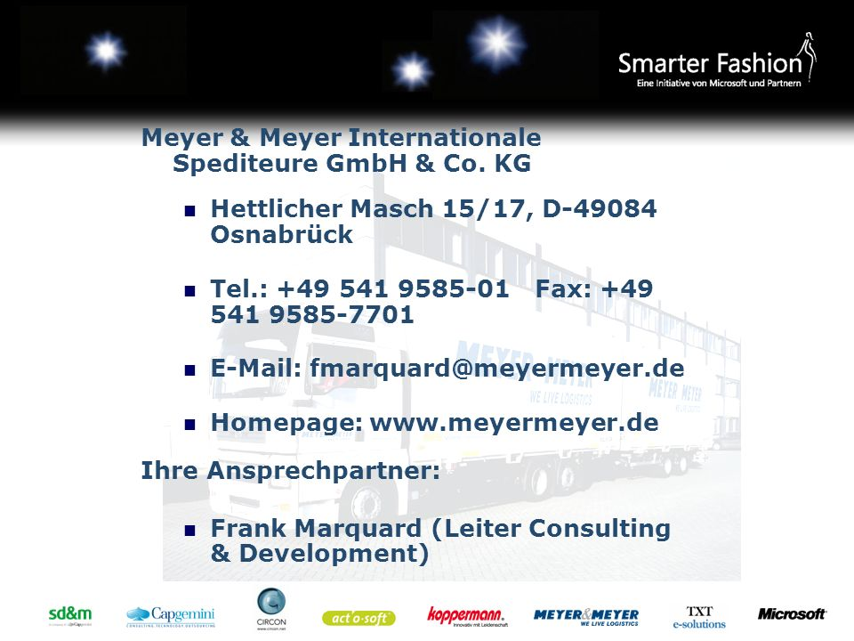 Meyer & Meyer Internationale Spediteure GmbH & Co. KG