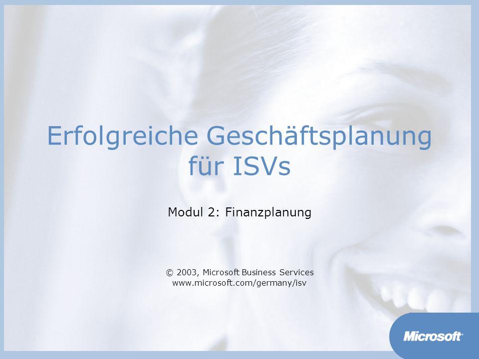 Erfolgreiche Geschäftsplanung für ISVs