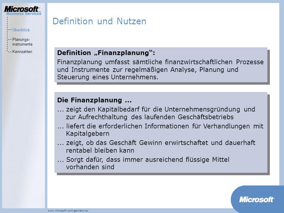 """Definition und Nutzen Definition """"Finanzplanung :"""