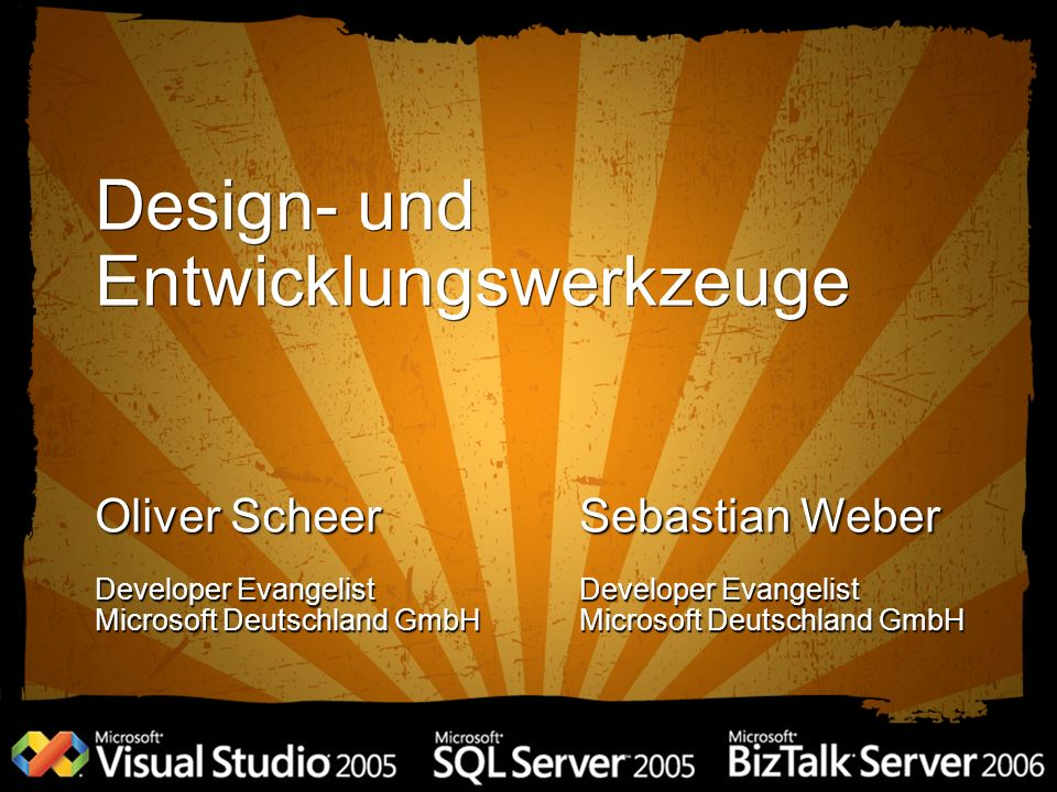 Design- und Entwicklungswerkzeuge