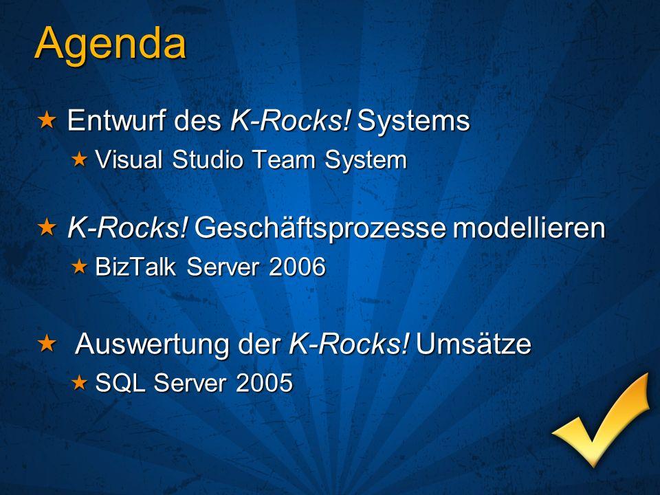 Agenda Entwurf des K-Rocks! Systems